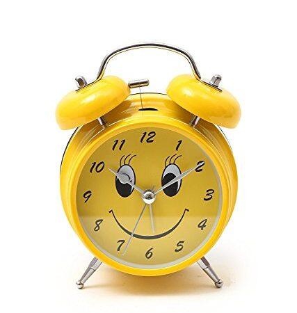 smiley alarm clock