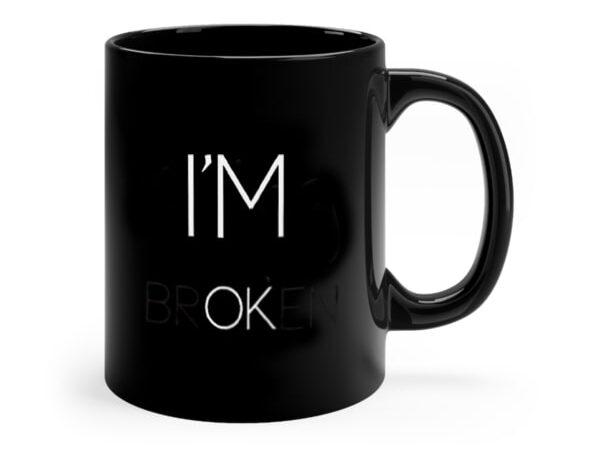 i am ok mug