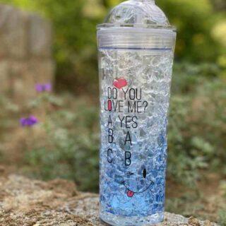 frosty bottle