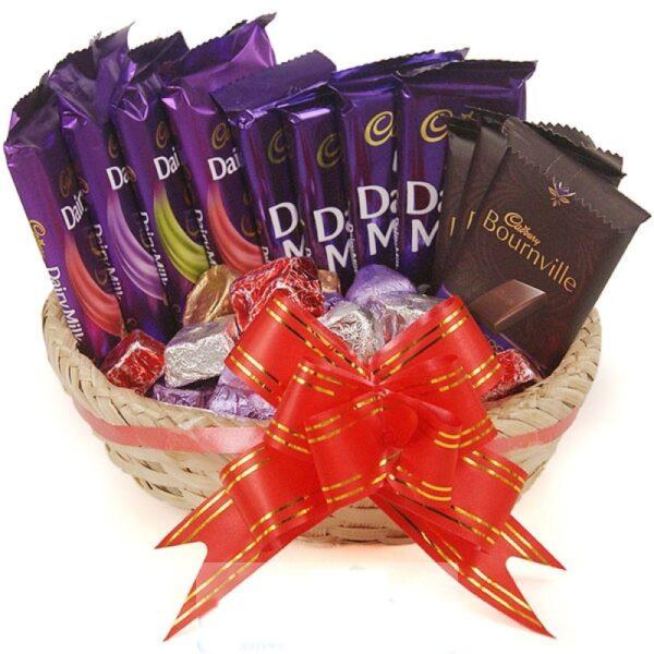 Cadbury Chocolate Combo With Basket