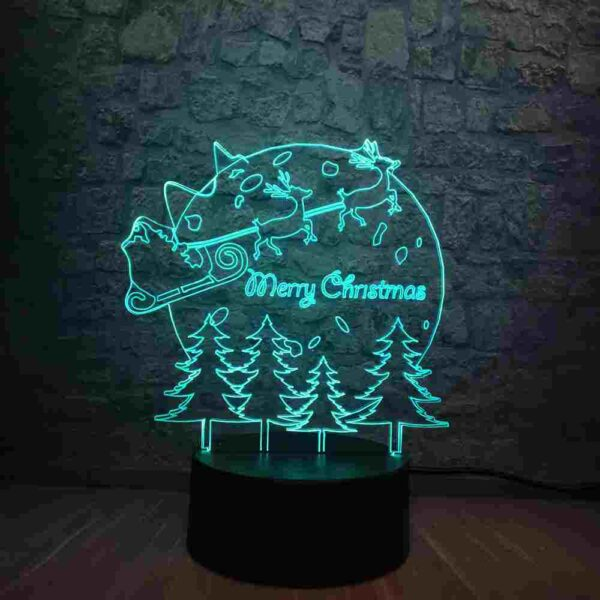 Merry Christmas Led Lamp