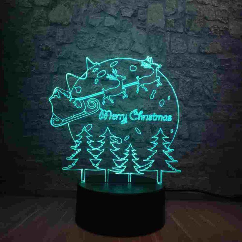 Merry Christmas Led Lamp