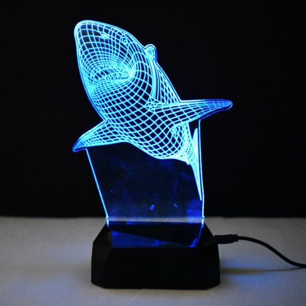 Shark Led Lamp
