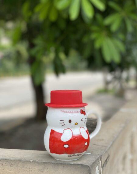 Red Kitty Mug