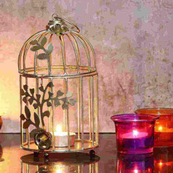 Bird Cage Tea Light Holder