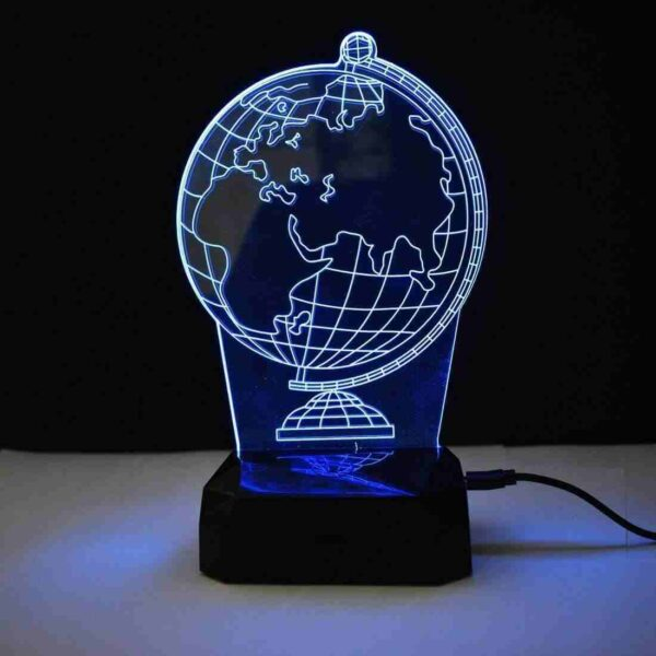 Globe 3D Illusion Night Lamp