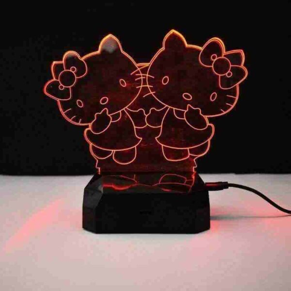 Kitty Led Lamp