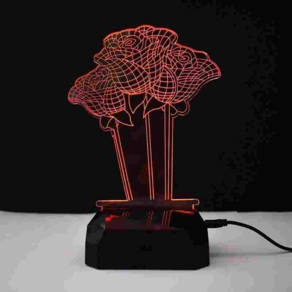 Rose Led Lamp